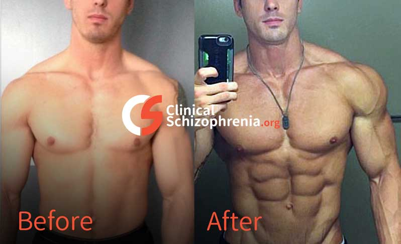 Enanthate results before and after